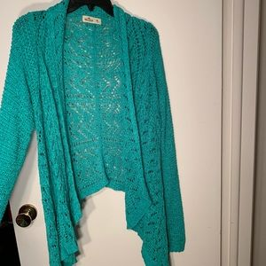 Crocheted cardigans